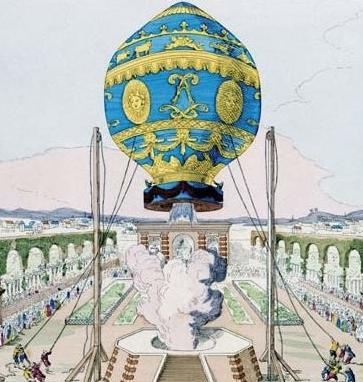 montgolfier brothers first public flight